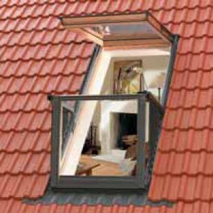 okna balkonowe gel vea velux polska sp z o o archispace. Black Bedroom Furniture Sets. Home Design Ideas