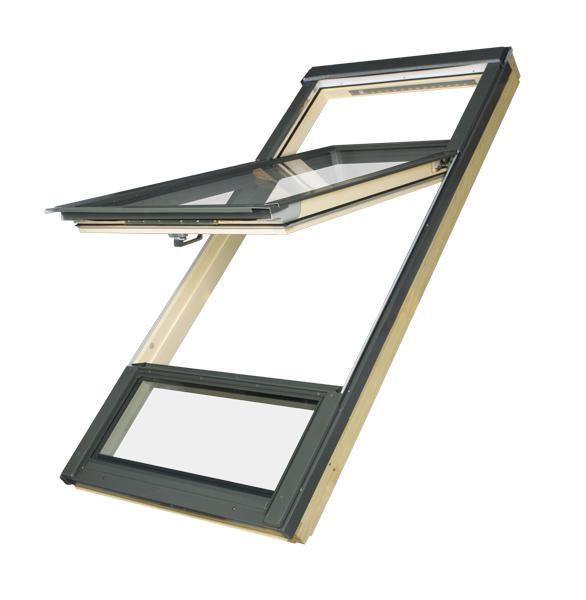 fen tre de toit fdy v duet prosky avec un clairage. Black Bedroom Furniture Sets. Home Design Ideas