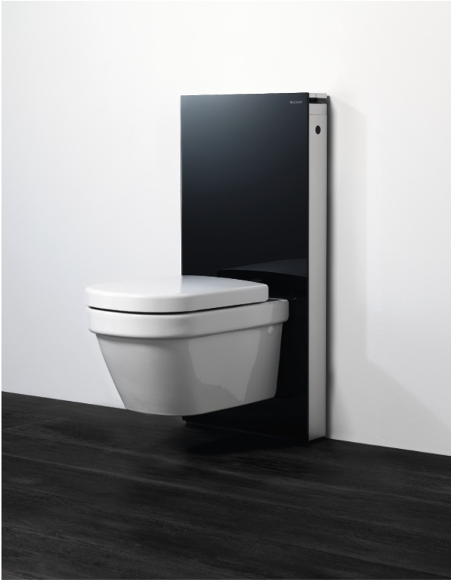 sp uczka natynkowa geberit monolith modu do wc. Black Bedroom Furniture Sets. Home Design Ideas
