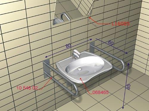 Lehnen łazienka Bez Barier Archispace